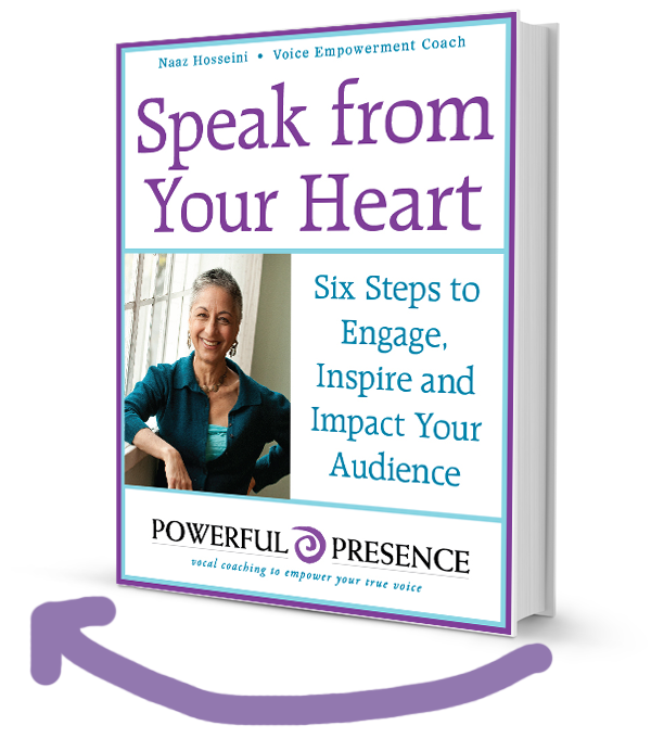 Speak from Your Heart book by Naaz Hosseini