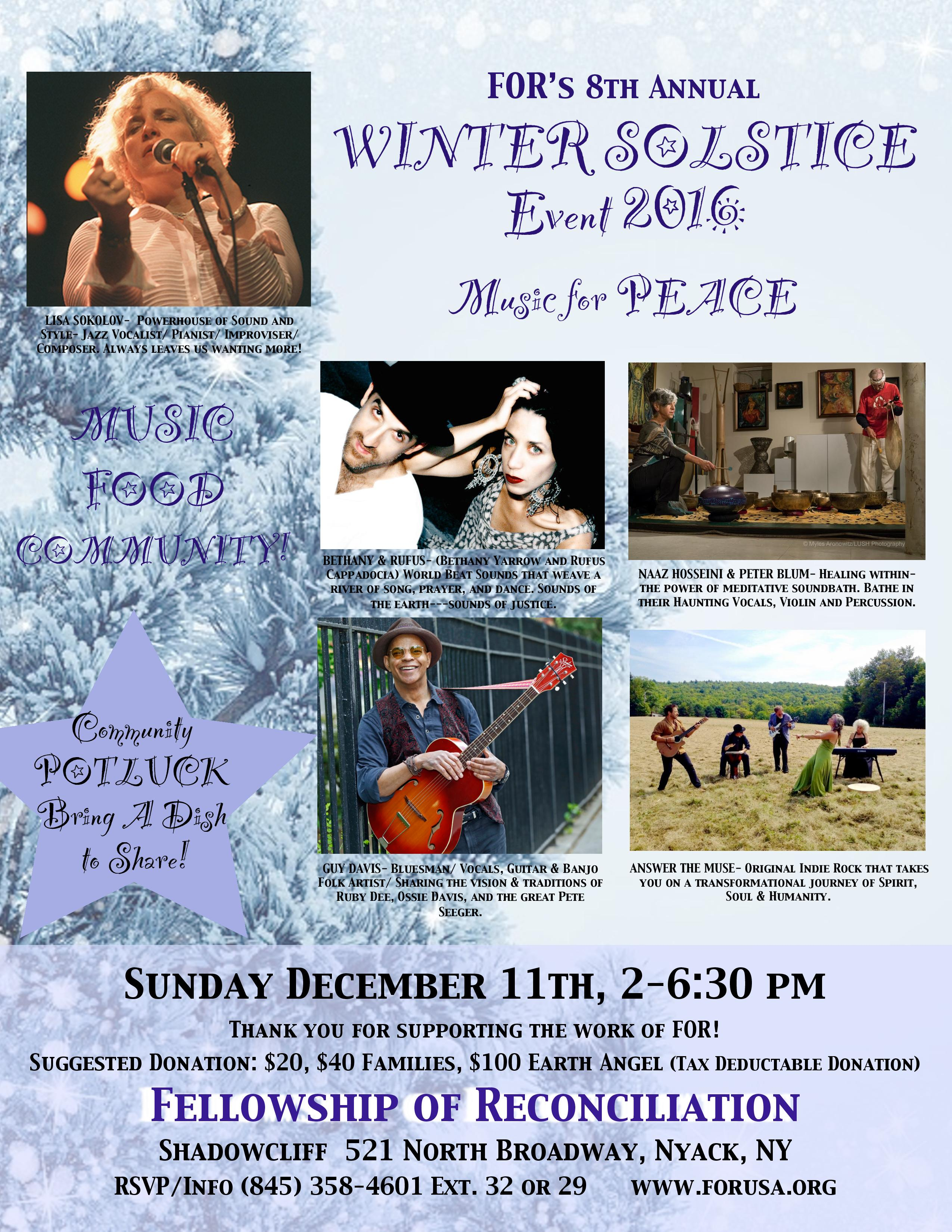 Winter Solstice Flyer